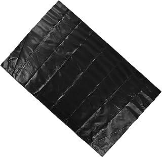 Mata do grilla, zmywalna mata podłogowa do kosza na trawnik do kominka na ognisko na zewnątrz(39 * 60 cali)