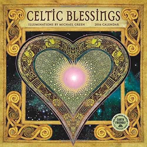 Celtic Blessings 2016 Mini Wall Calendar