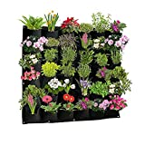 Active Gear Guy Vertical Hanging Outdoor Wall Planter with 36 Roomy...