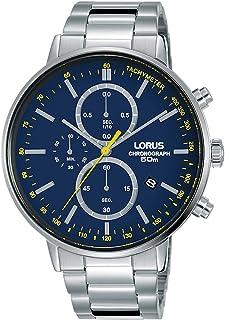 ساعة لوروس اوربان كرونوغراف بسوار من الستانلس ستيل للرجال موديل RM357FX9