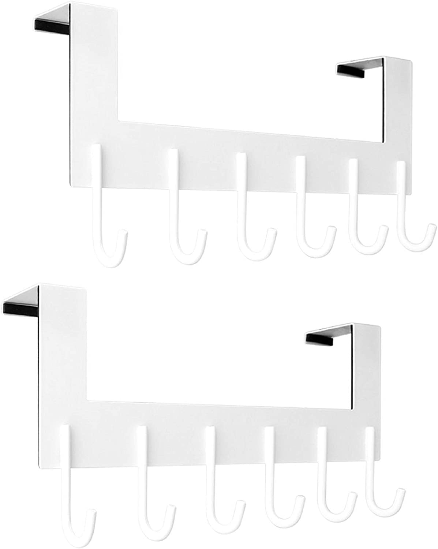 VXAR Low price Over The Door Hook Hanger R Max 63% OFF Stainless Steel Heavy Coat Duty