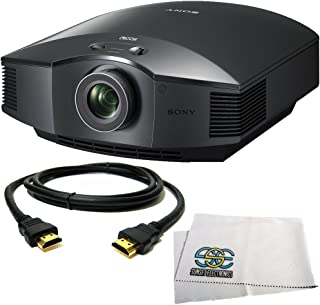 Sony VPL-HW40ES Full HD SXRD Home Theater ES Projector + HDMI Cable + Microfiber Cleaning Cloth