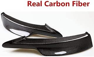 Real Carbon Fiber/Resin Car Front Bumper Lip Protector Spoile Side Splitter For BMW E90 335i LCI M-Tech (Real Carbon Fiber)