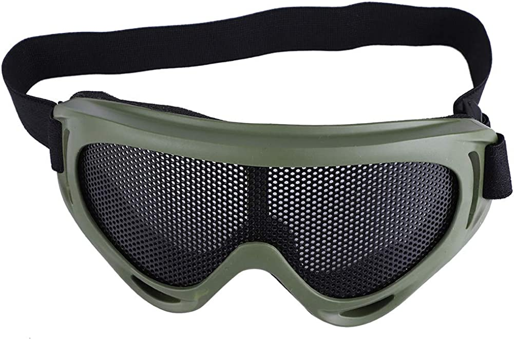 Homeriy deportes al aire libre Militar Airsoft Tactical gafas de protección ocular sistema de seguridad para hombres mujeres motocicleta montar Wargame Paintball negro