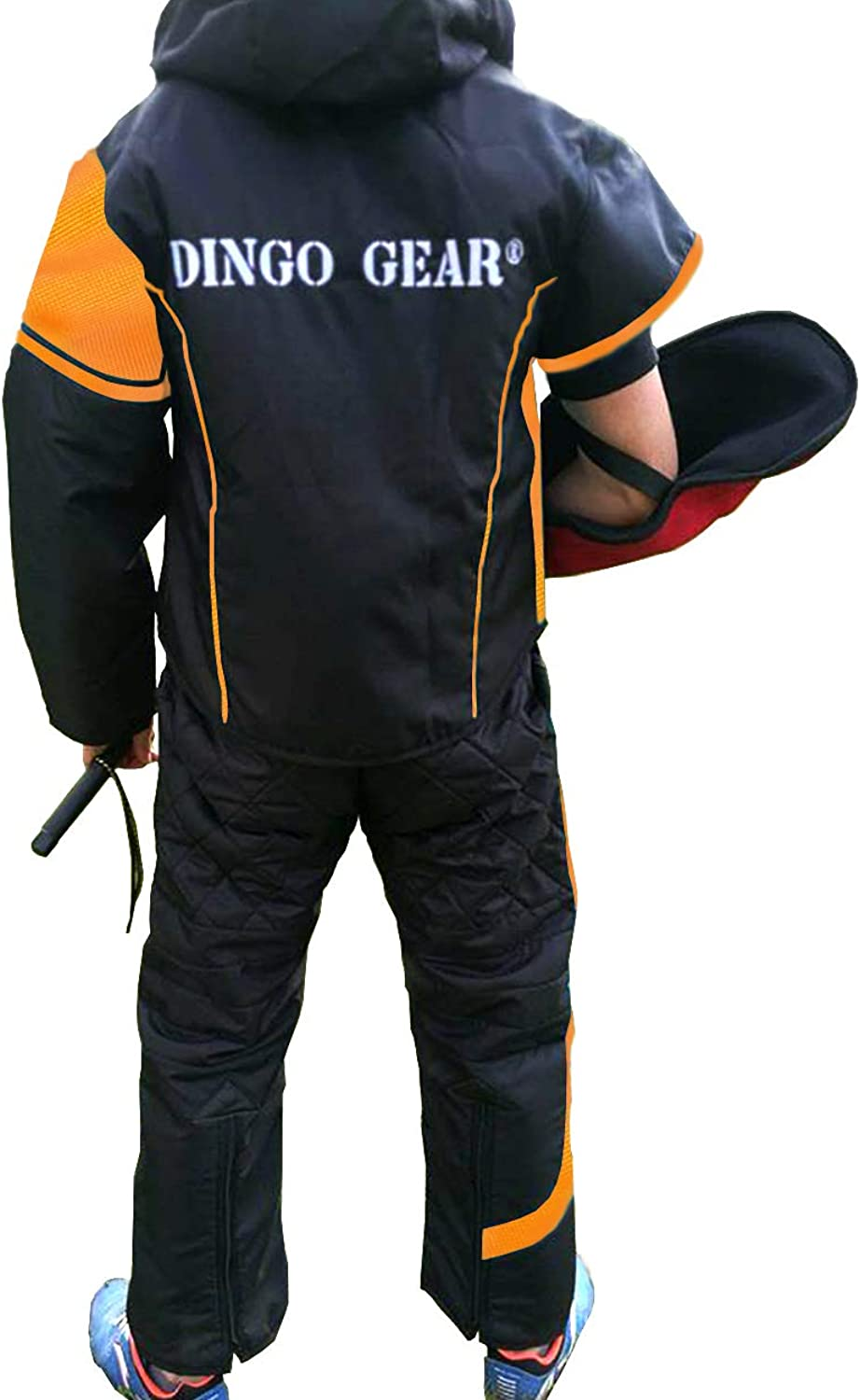 Dingo Gear Suit for Decoy or Handler for Training Dog Obedience, IPO and Dog Sports, Light Predection in Dog Training, Handmade, Sporty Design, Excellent Freedom of Movement S01041, XXL