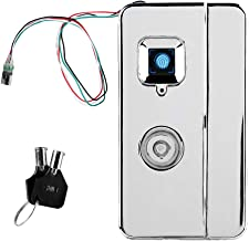 Liukouu Fipilock Mini Dustproof Fingerprint Smart Lock Anti-Theft Biometric Backpack Lock with Key
