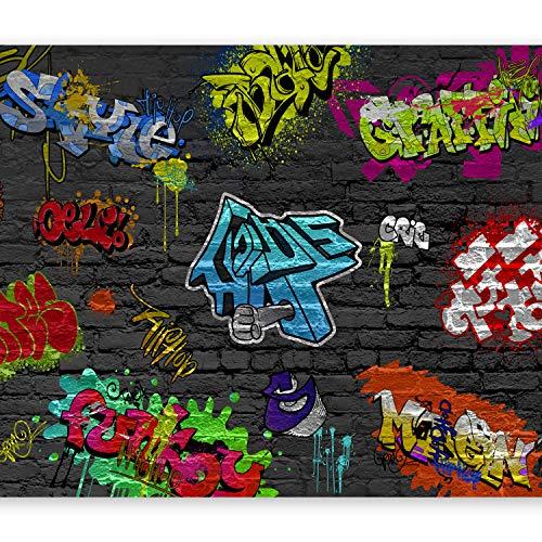 murando Papier peint intissé 300x210 cm Décoration Murale XXL Poster Tableaux Muraux Tapisserie Photo Trompe l'oeil Graffiti 10110902-6