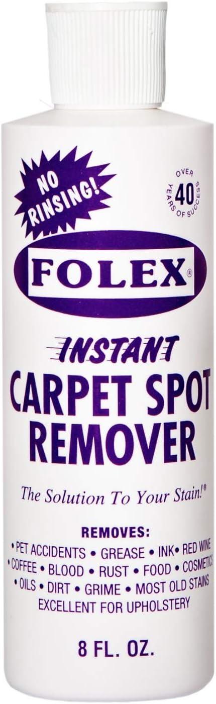 Rare Folex Carpet Spot Remover - for Many popular brands Stain Instant 8oz