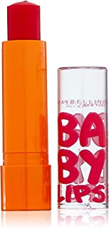 Maybelline New York Baby Lips Moisturizing Lip Balm, Cherry Me, 2 Count (Pack of 12)