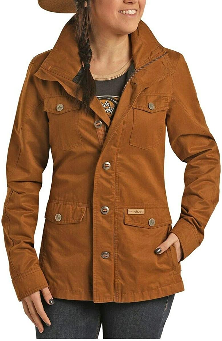 Powder River Outfitters Ladies Brass Rancher Jacket 52B6755-70