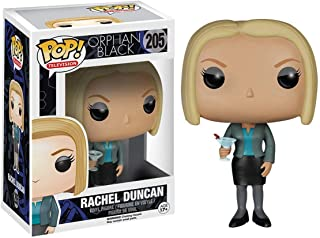 Funko Rachel Duncan: Orphan Black x POP! TV Vinyl Figure & 1 PET Plastic Graphical Protector Bundle [#205 / 05035 - B]