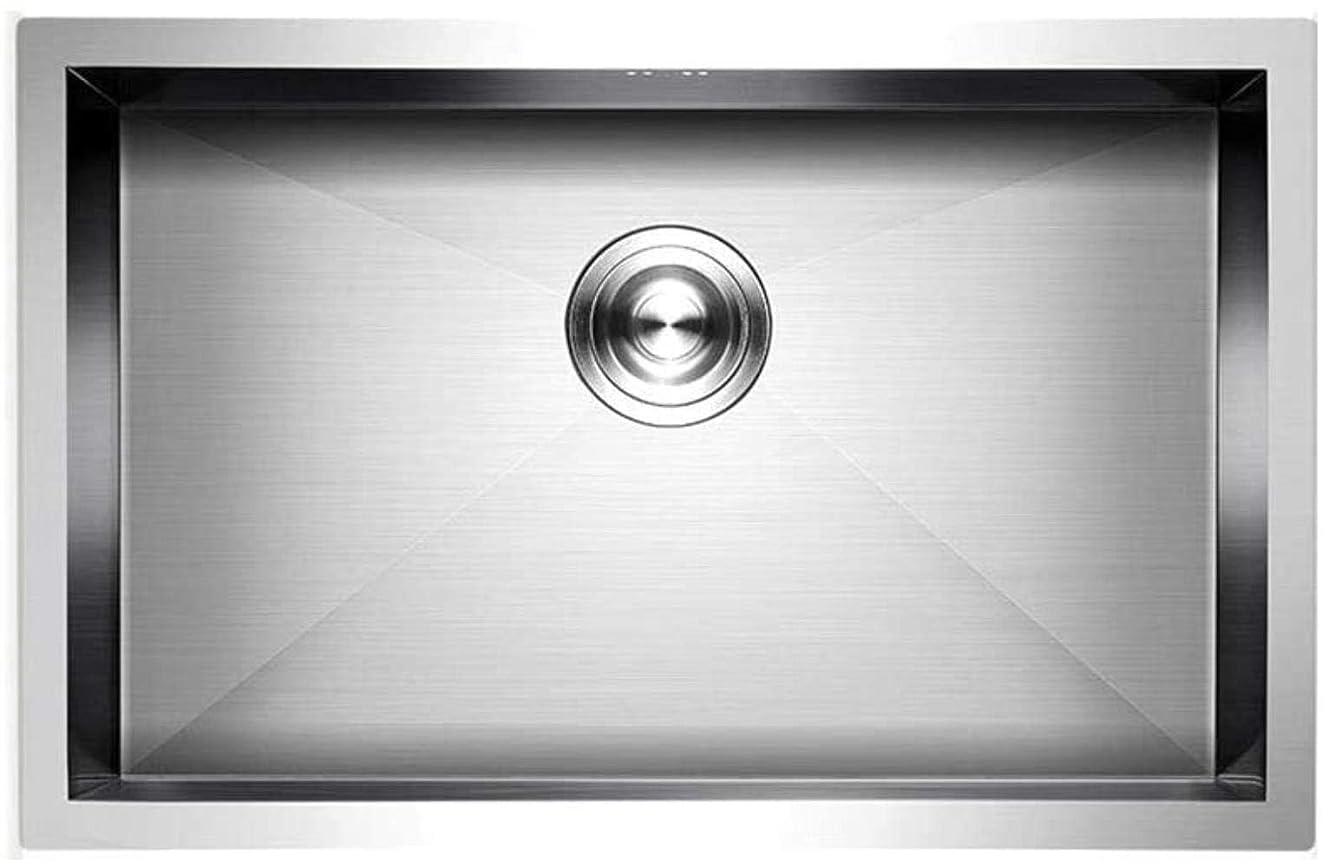 活気づける作物粒キッチンシンクキッチンアクセサリーオーバーフロー穴ステンレス鋼のフルーツプールクリーンプールカラー:シルバーサイズ:52 * 42センチメートル LCSHAN
