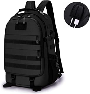 JQNPP 45L Tactical Backpack Molle Military Rucksack Molle Daypack Daysack Hiking Camping Hunting