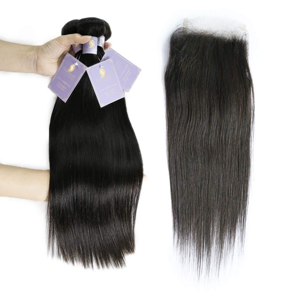 Natacee 12A 5 ☆ popular Brazilian Human Hair Women Weave Bundles Regular discount Vi Straight