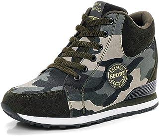 حذاء NCNDB نسائي مموه بكعب عالٍ حذاء ترفيه ذو كعب عالٍ مقاس أمريكي 4. 5-10
