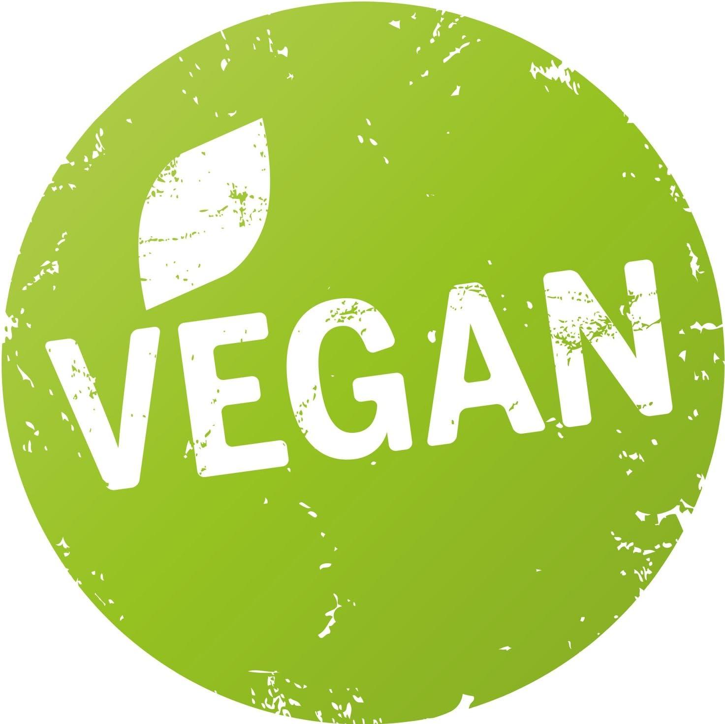 Finest Folia 500x Produkt Aufkleber Bio Vegan Glutenfrei Laktosefrei Vegetarisch R002 Vegan Auto