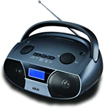AKAI CD106BT Radio Boombox BT sin Mecanismo de CD
