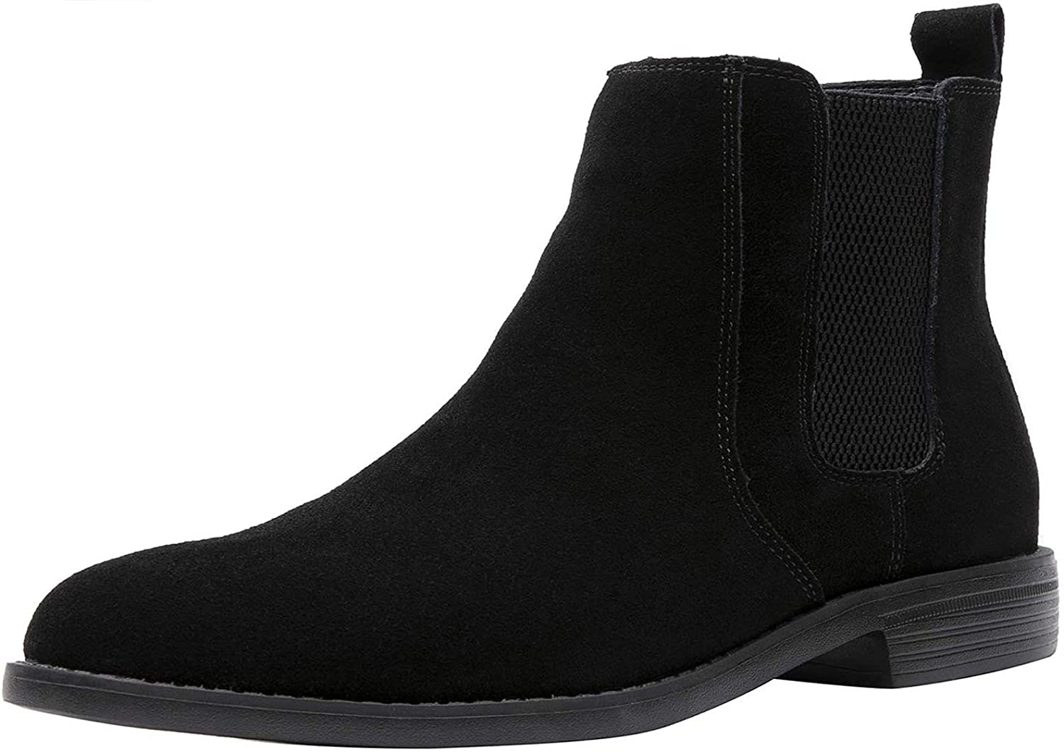 Now free Baltimore Mall shipping JIONS Men Chelsea Slip-on Suede Leather Casual Lightweight Boots