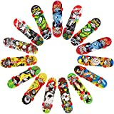Dadabig 15 Stück Finger Skateboard Set Finger Skateboards Mini...