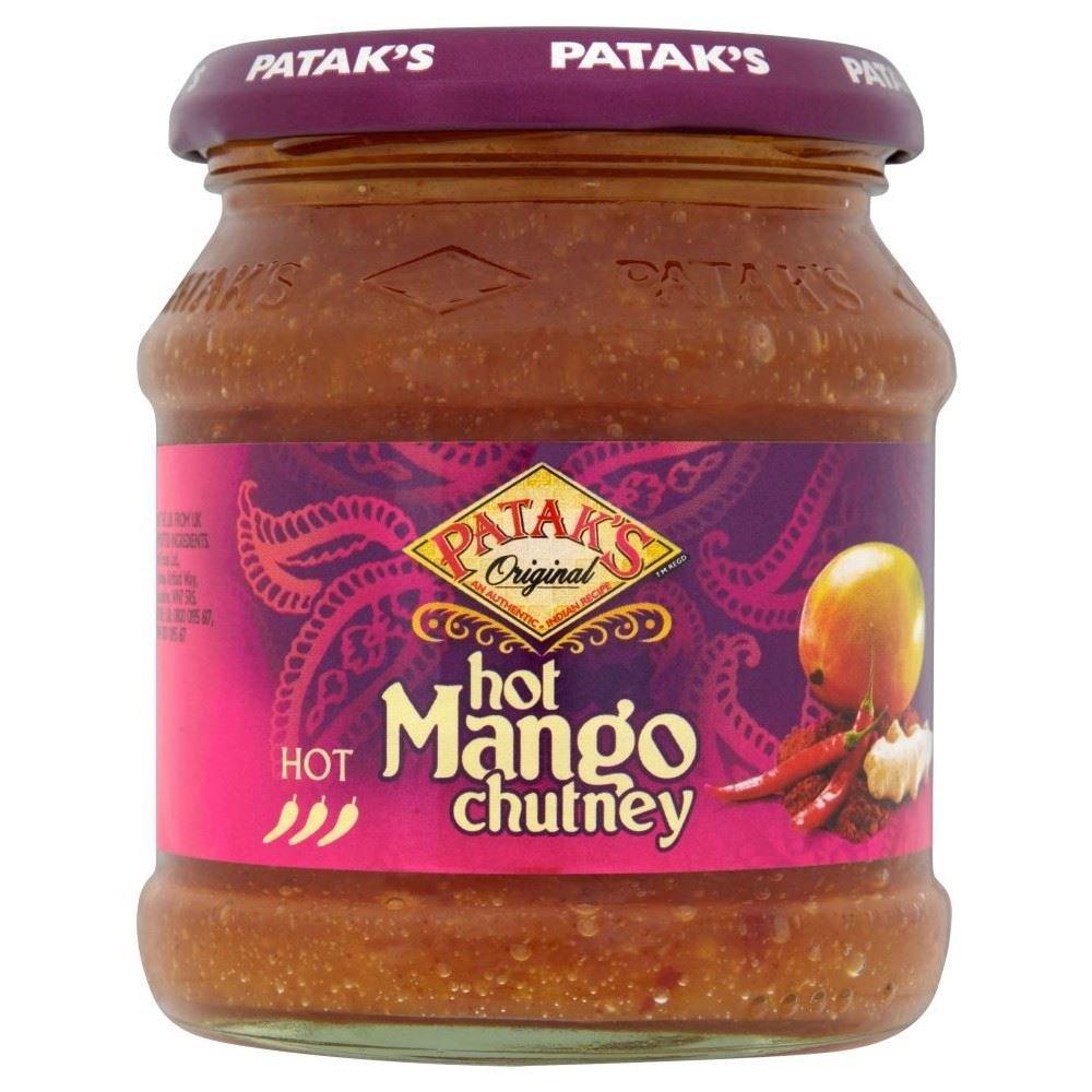 Patak's Hot Mango Popular Chutney 340g Pack Rapid rise 6 - of