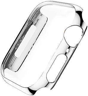ZAALFC Funda Protectora para Apple Watch 1 2 3 PC Funda Hard Iwatch Series para Apple Watch 38mm 42mm Funda Banda para iWa...