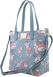 Loungefly: Harry Potter - Magical Creatures Tote Bag, Amazon Exclusive, Multicolor