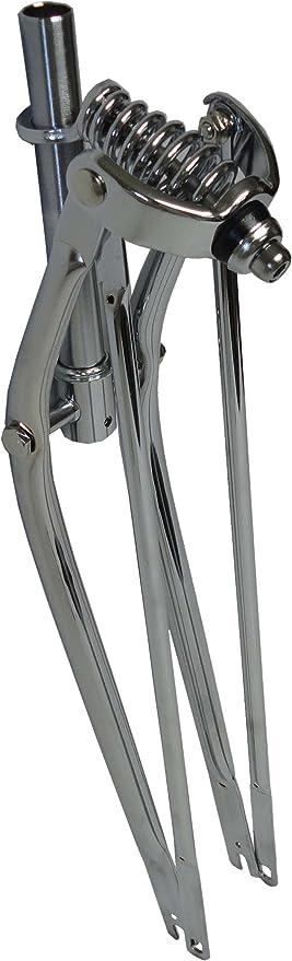 Quality 26 inch Springer Fork 1 1//8 Threaded Black for Cruiser Bikes