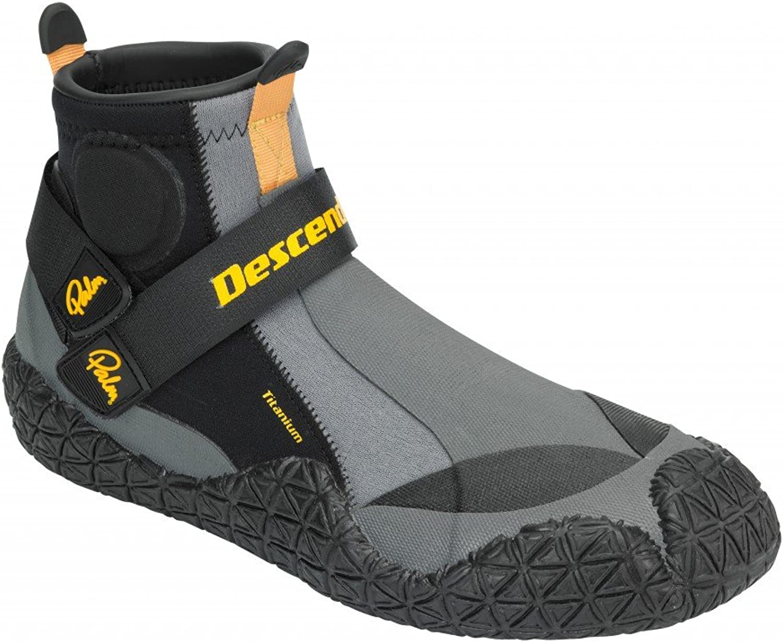 Palm Kayak or Kayaking - Descender Water shoes Black - Unisex - A high performance three-quarter watershoe - Slip-on entry