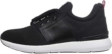 Nero Giardini A800581U Sneakers Uomo in Pelle E Tela