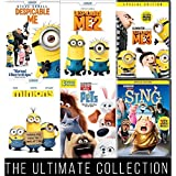 Illumination Ultimate Six-Pack Collection (Despicable Me 1, 2, 3, Minions, Secret Life of Pets and Sing)