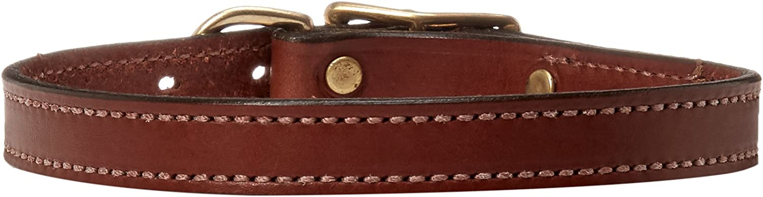 Mendota Products Standard Dog Collar, 3 4Inch by 16Inch, Chestnut