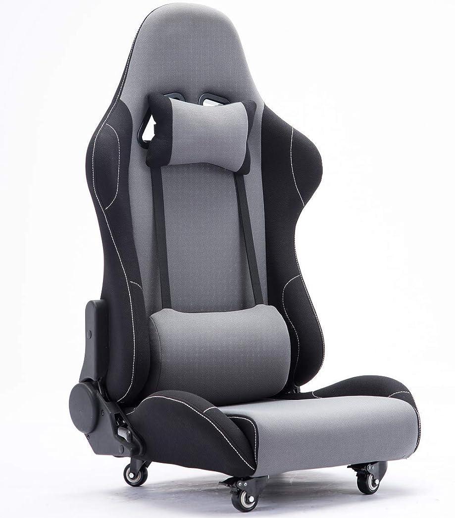 服を着る水差しこんにちはEsnato ゲーミング座椅子 150度リクライニング ハイバック ヘッドレスト クッション付き キャスター付き T-3