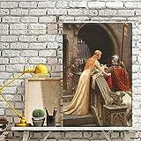 wZUN La Famosa Pintura al óleo impresionista God Speed de Inglaterra sobre Lienzo, Carteles nórdicos e Impresiones en la Pared del Mural artístico de la Sala de Estar 60x90 Sin Marco