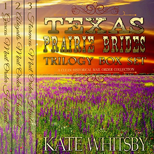 Texas Prairie Brides Trilogy Box Set audiobook cover art