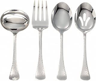 Ginkgo International Lafayette 4-Piece Stainless Steel Hostess Serving Set