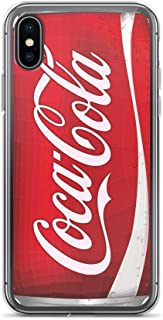 iPhone X/XS Pure Clear Case Cases Cover coca-cola can