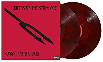 Songs For The Deaf - Exclusive Limited Edition Red & Black Marble Colored 2x Vinyl LP
