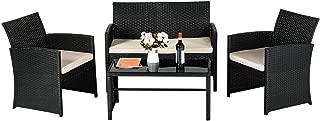 Best rattan sofa set garden Reviews
