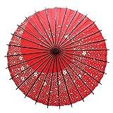 ILuvic 踊り傘 日傘 和傘 舞踊 桜吹雪 和風 コスプレ レイド