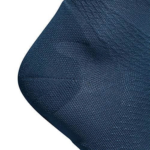 BAUERFEIND Men's Run Ultralight Compression Socks, Navy blue, M, 41-43