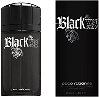 Black Xs By Paco Rabanne Edt Spray 3.4 Oz