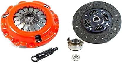Clutch Kit Works With Mazda Rx7 Turbo Gxl Base Sport Lx Se Convertible Gtu Gtus 1986-1991 1.3L R2 GAS Naturally Aspirated 1.3L R2 GAS Turbocharged(Turbo 1.3L; Stage 1 Clutch Disc)