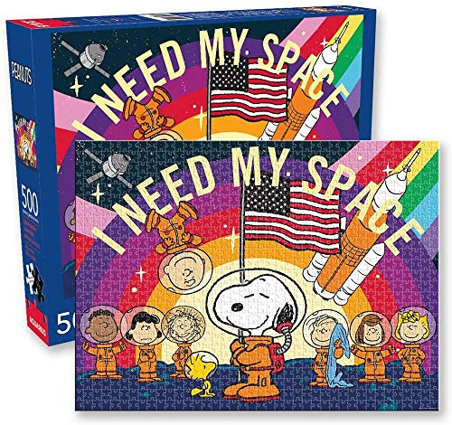 Peanuts (ピーナッツ) I Need My Space/Snoopy In Space (スヌーピー) 500 Piece Jigsaw Puzzle (500 ピース ジグソーパズル) [並行輸入品]
