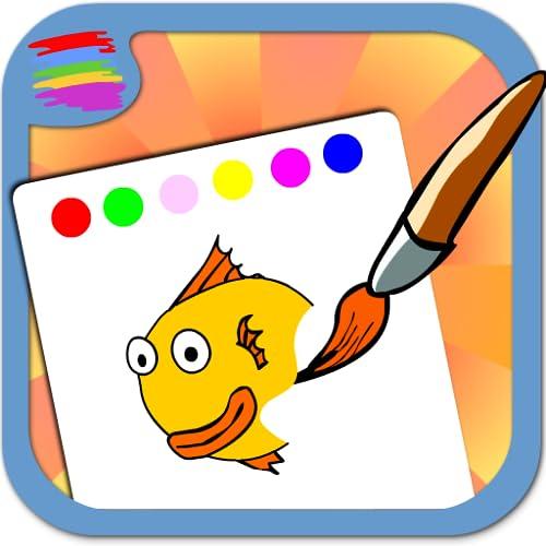 Ausmalbilder für Kinder: spiel
