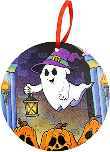 discount RiamxwR Halloween Hanging Ornament: Pumpkin Pendant Halloween Ornament Holiday online sale Tree Hanging Decor for Halloween Wreath Ornaments and Party Decoration online sale (Style F) outlet online sale