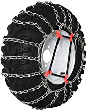 Grizzlar GTU-256 Garden Tractor 2 Link Ladder Alloy Tire Chains Tensioner Included 18x8.50-10 18x8.50-8 18x8-12.125 18x9.50-8 19x9.50-8