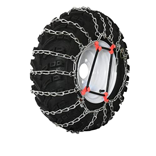 Snow Blower Maxtrac Tire Chains 16X650X8 Deep Lug 2 Link Snowblower parts