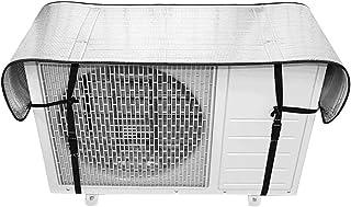 CoiTek エアコン室外機カバー 日よけパネル アルミフィルム製 4層構造パネル 125cm*35cm