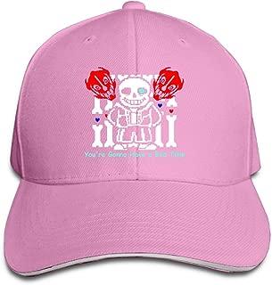 Undertale Sans 'You're Gonna Have A Bad Time' Adjustable Unisex Hats Trucker Hats Sanwich Bill Caps