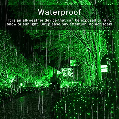 JMEXSUSS 2Pack 200 LED Solar String Lights 75.5ft 8 Modes Solar Christmas Lights Waterproof for Garden,Wedding,Party,Christmas Tree,Xmas,Outdoors(Green-2Pack)